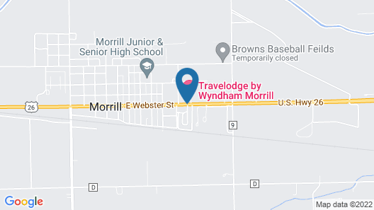 Travelodge by Wyndham Morrill Map