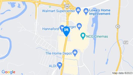 Hampton Inn Kingston Map