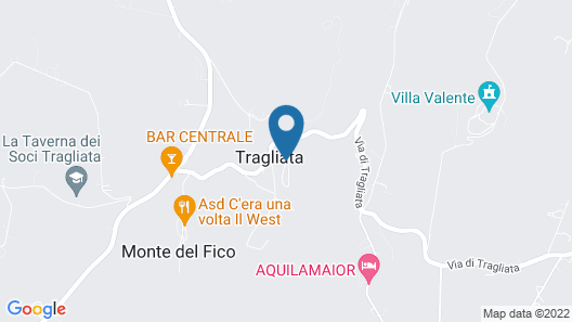 Borgo di Tragliata Map