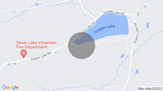 5 Bedroom Lake Home on Quaker Lake! Map