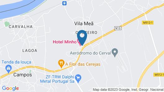 Hotel Minho Map