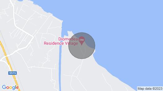 Campomarino Lido - Sea Map