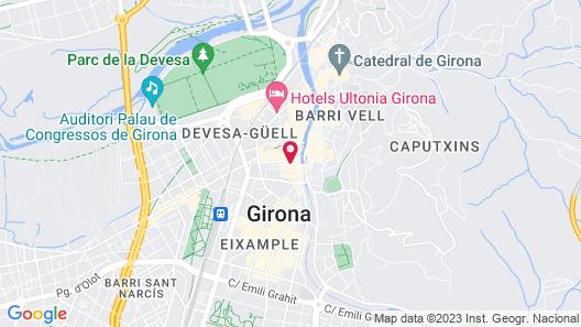 Peninsular Hotel Map