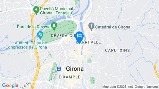 Ciutat De Girona Map
