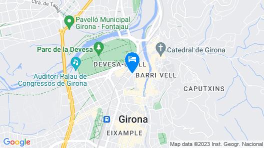 Hotel Gran Ultonia Map