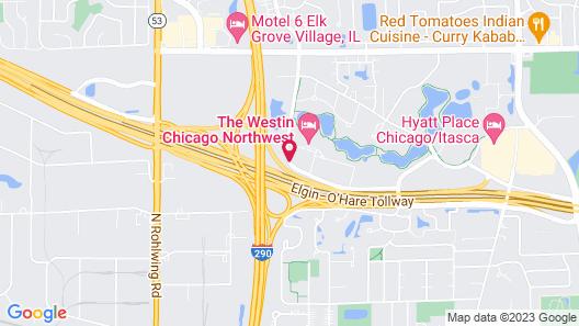 The Westin Chicago Northwest Map