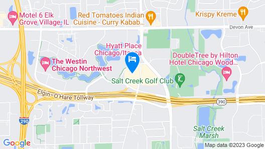 Hyatt Place Itasca Map