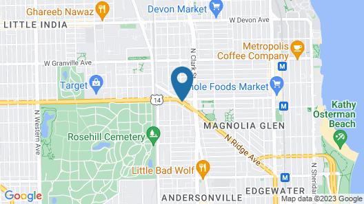 Heart O' Chicago Map