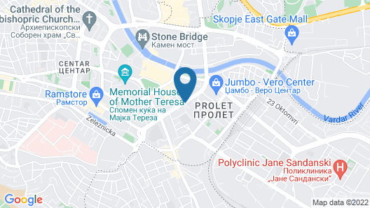 Hotel Centar Map