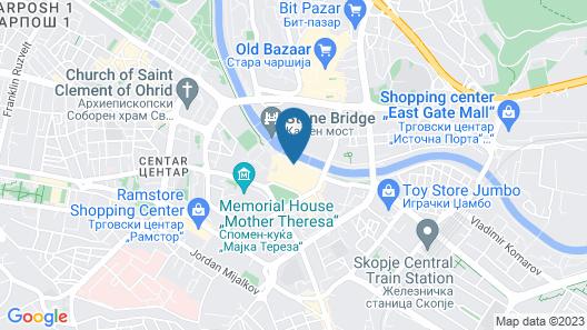 Guesthouse Anja Map