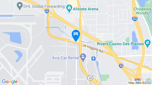 Best Western At O'Hare Map