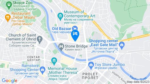 Hotel De KOKA Map