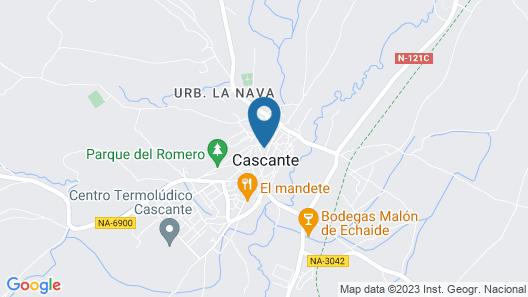 Hostal El Lechuguero Map
