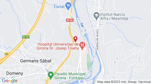Hotel Costabella Map