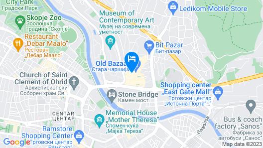Hotel Old Konak Map