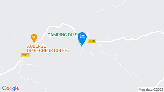 Camping du Soleil Map