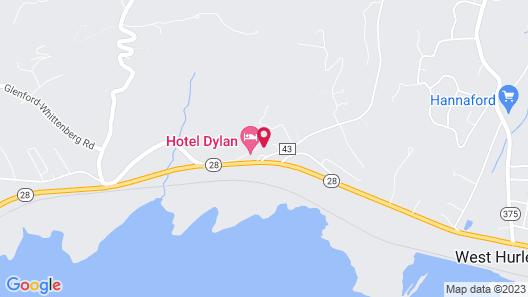 Hotel Dylan Map