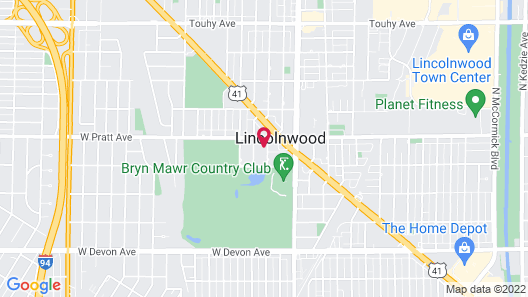 Cozy Rooms in Lincolnwood Chicago Home Map