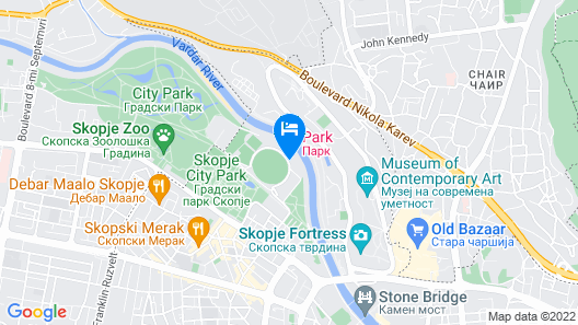 Park Hotel & Spa Map