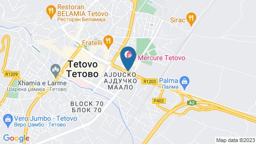 Mercure Tetovo Map