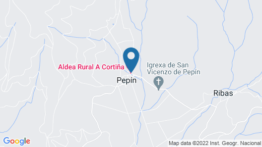 Aldea Rural A Cortiña Map