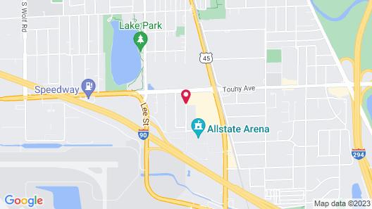 Residence Inn by Marriott O'Hare Map