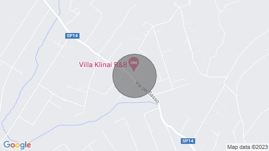 Country House Near Cerveteri Map