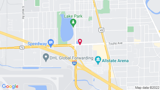 Extended Stay America - Chicago - O'Hare Map