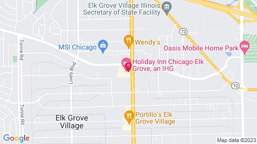 Holiday Inn Chicago - Elk Grove, an IHG Hotel Map