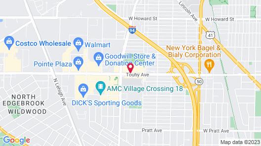 Holiday Inn Chicago North Shore, an IHG Hotel Map