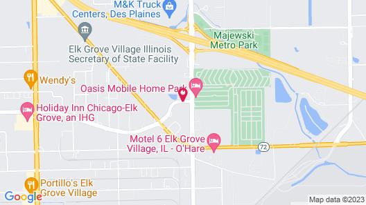 Wyndham Garden Elk Grove Village/O'Hare Map