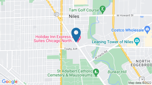 Holiday Inn Express & Suites Chicago North Shore - Niles, an IHG Hotel Map