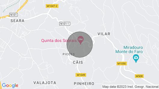 Bungalow com Piscina,valença Izibookings Map