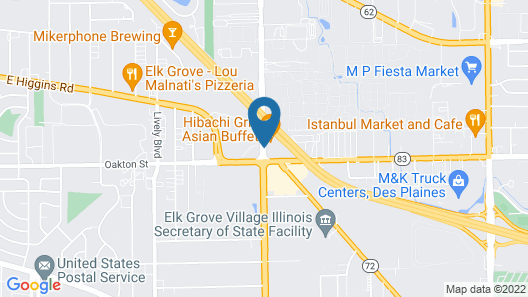 La Quinta Inn by Wyndham Chicago O'Hare Airport Map