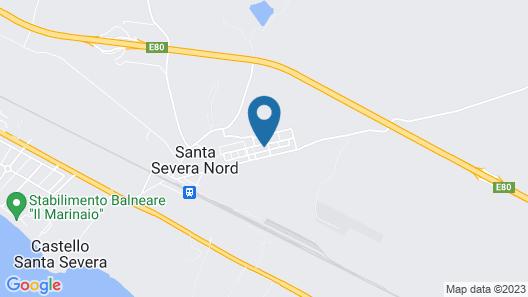 Baia Benessere Map