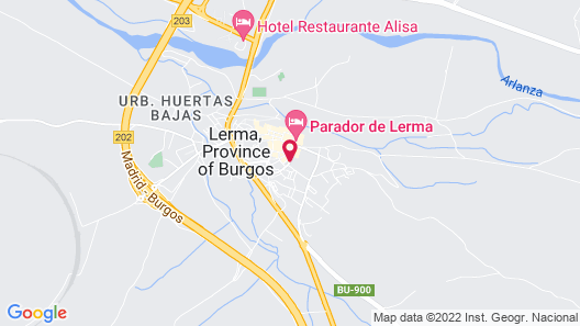 Hotel & Spa Ceres Map