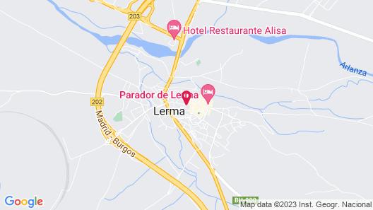 OYO Hotel Villa de Lerma Map