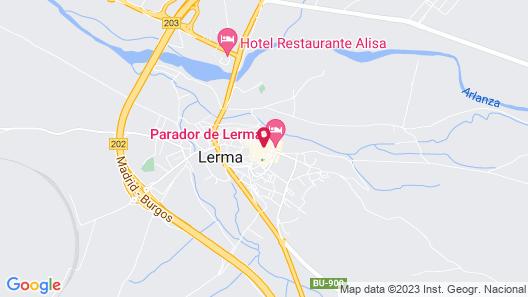 Parador De Lerma Burgos Map