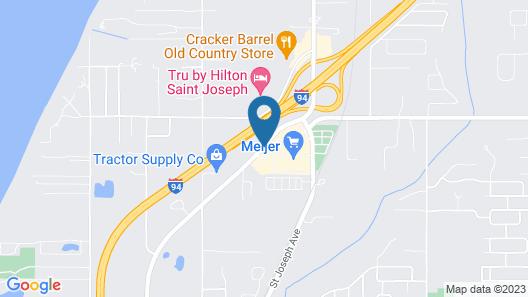Hampton Inn I-94 St Joseph Map
