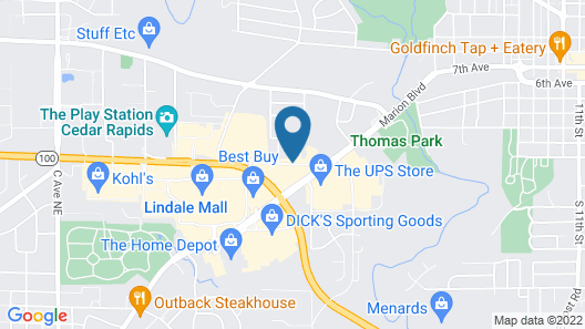 Best Western Plus Longbranch Hotel & Convention Center Map
