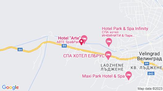 Arte Spa & Park Hotel Map