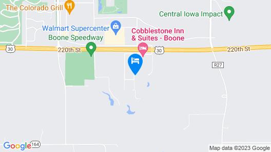 Cobblestone Inn & Suites - Boone Map