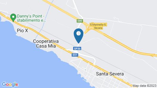 Le Casette di Frà Al Bondì Map
