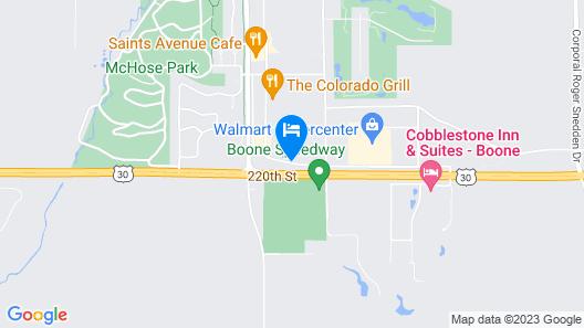 Baymont by Wyndham Boone Map