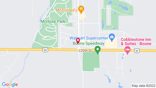 Super 8 by Wyndham Boone Map