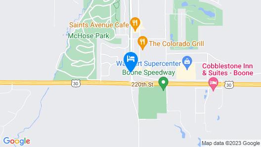 Super 8 by Wyndham Boone Map