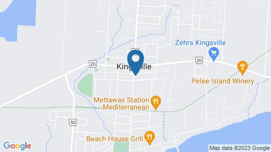 Distinctive Inns of Kingsville Inn31 Map