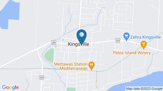 Distinctive Inns of Kingsville Inn15 Map