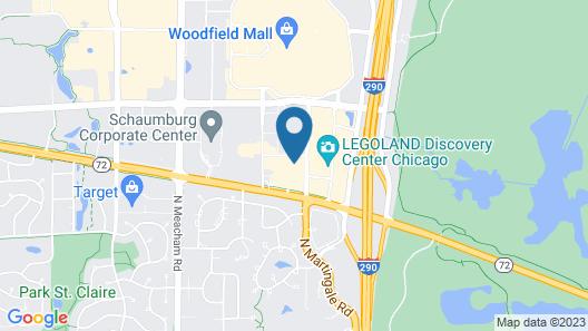 Quality Inn Schaumburg - Chicago Map