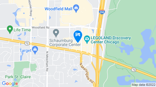 Quality Inn Schaumburg - Chicago Map